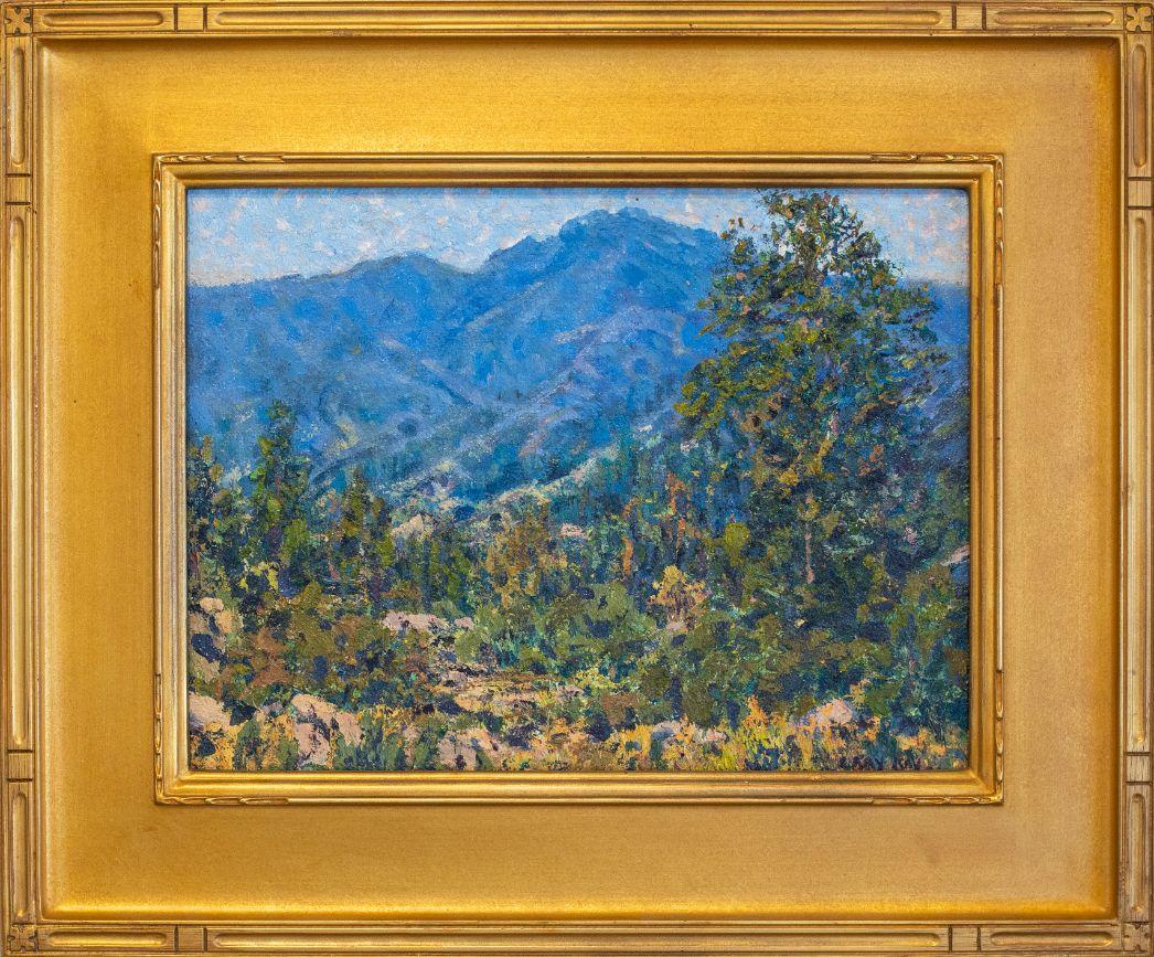 JuneLakeLoop_SierraMountains_GaryRay1952_OilonBoard_19x23_1900
