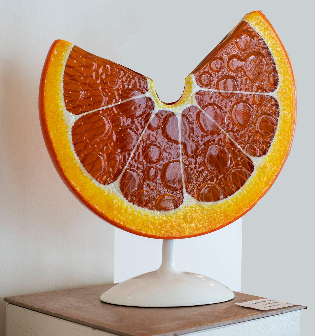 OrangeSlice_DanielMeyer_CastAcrylic_2000