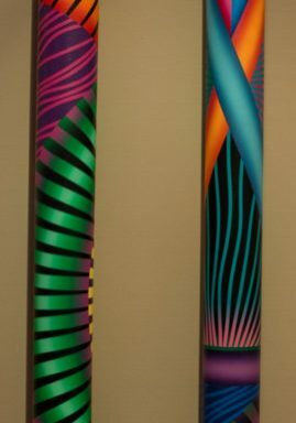 Grouped wall sticks_GeorgeSnyder